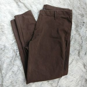 4 for $20 Brown Faux Jeggings